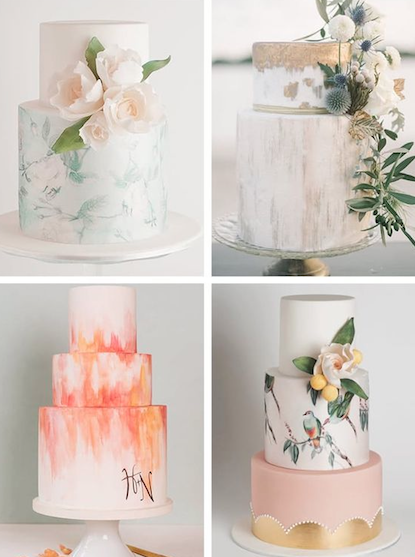 Artistic cake options -