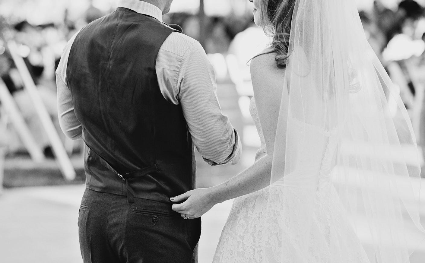 Klassische Hochzeit -