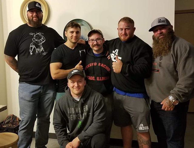 We had an amazing time with @jbboss_lifters4lifters and @berserkr_strength! Be sure to check out @jbbosspartyontheplatform this January! Plenty of amazing guest judges and lifters will be there, and as promised. It'll be a party! @musclemonster @stlbarbellco @squat2depth_apparel @tuffwraps #monsterfitness