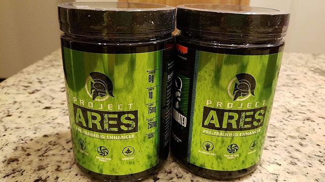 Thank you for the Pre-Workout @the1_miller! If you haven't already, check out Reanimated Lab's Project Ares! @musclemonster @stlbarbellco @squat2depth_apparel @tuffwraps #monsterfitness