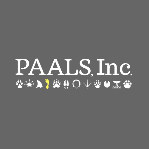 PAALS, Inc. is a 501c3 nonprofit organization focusing on the health, safety and psychological wellness of all animals.