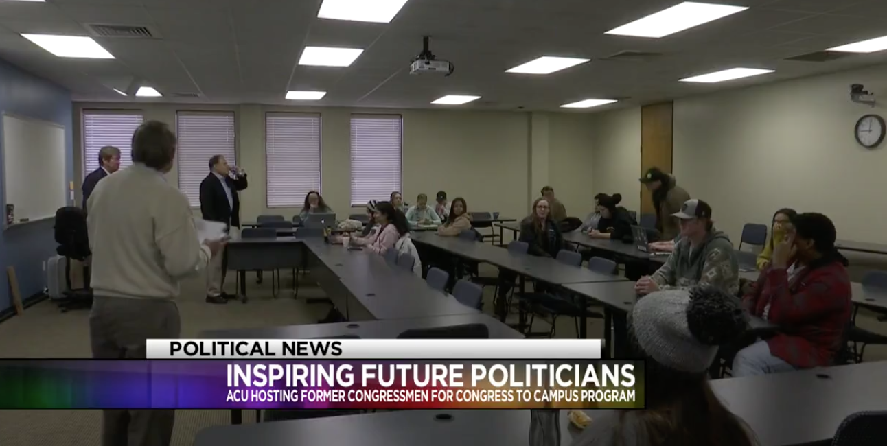 Spring 2019 to Abilene Christian University featured on KTAB