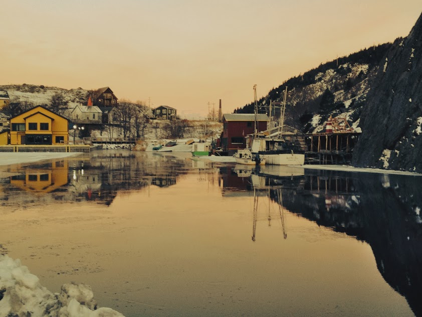 Quidi Vidi calm morning 2 Dec 18.JPG