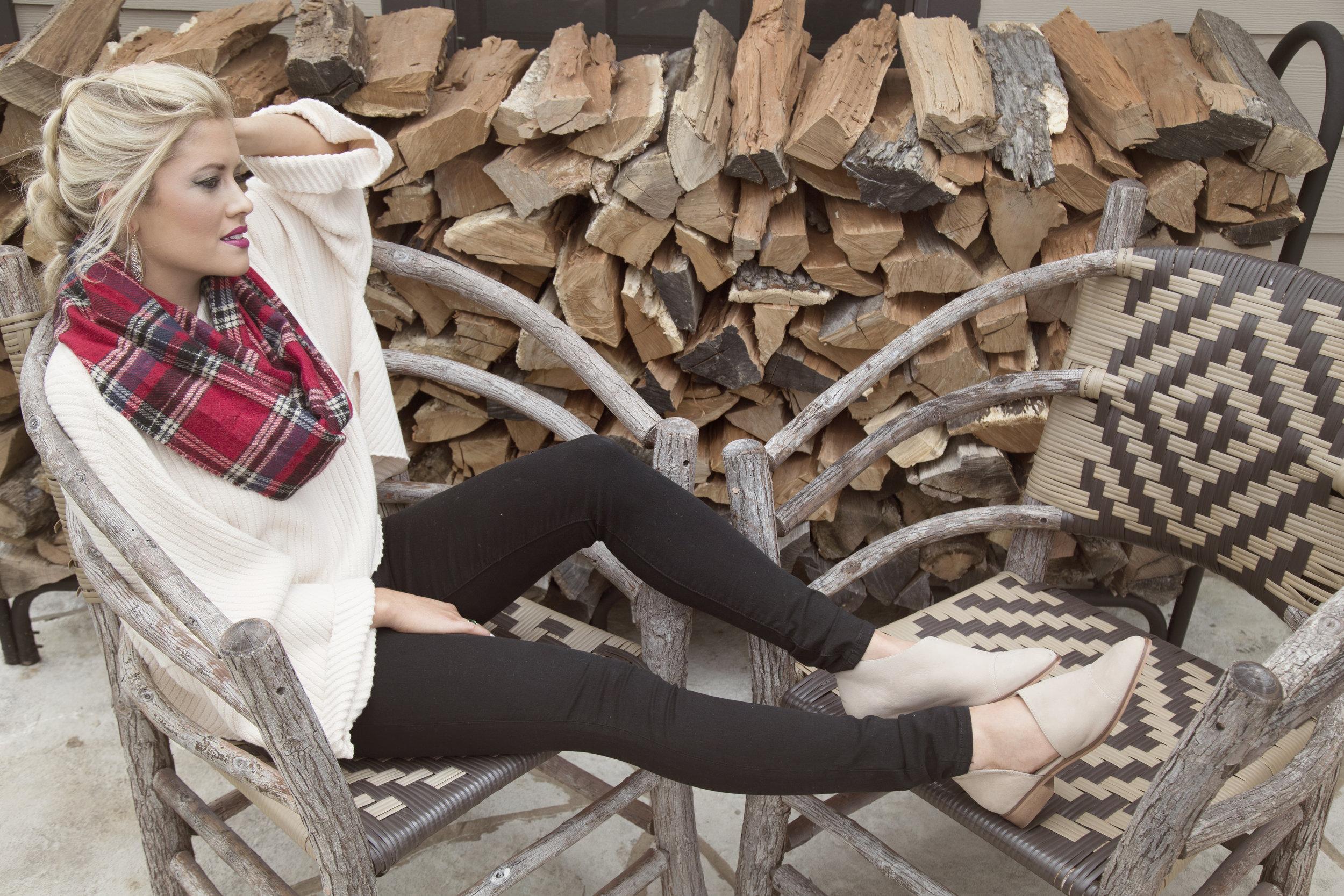 27 plaid scarf tan shoe.jpg