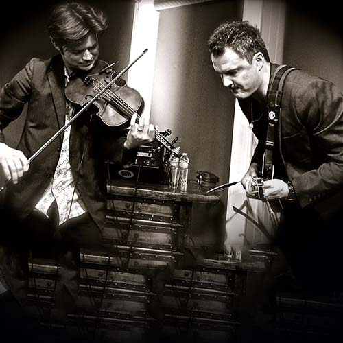 One of the best fiddlers in the world: Warren Hood Kym Warner on  January 6th  at The Mucky Duck.