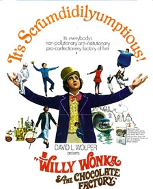 Willy Wonka is the midnight movie at River Oaks Theater  January 19th-20th .