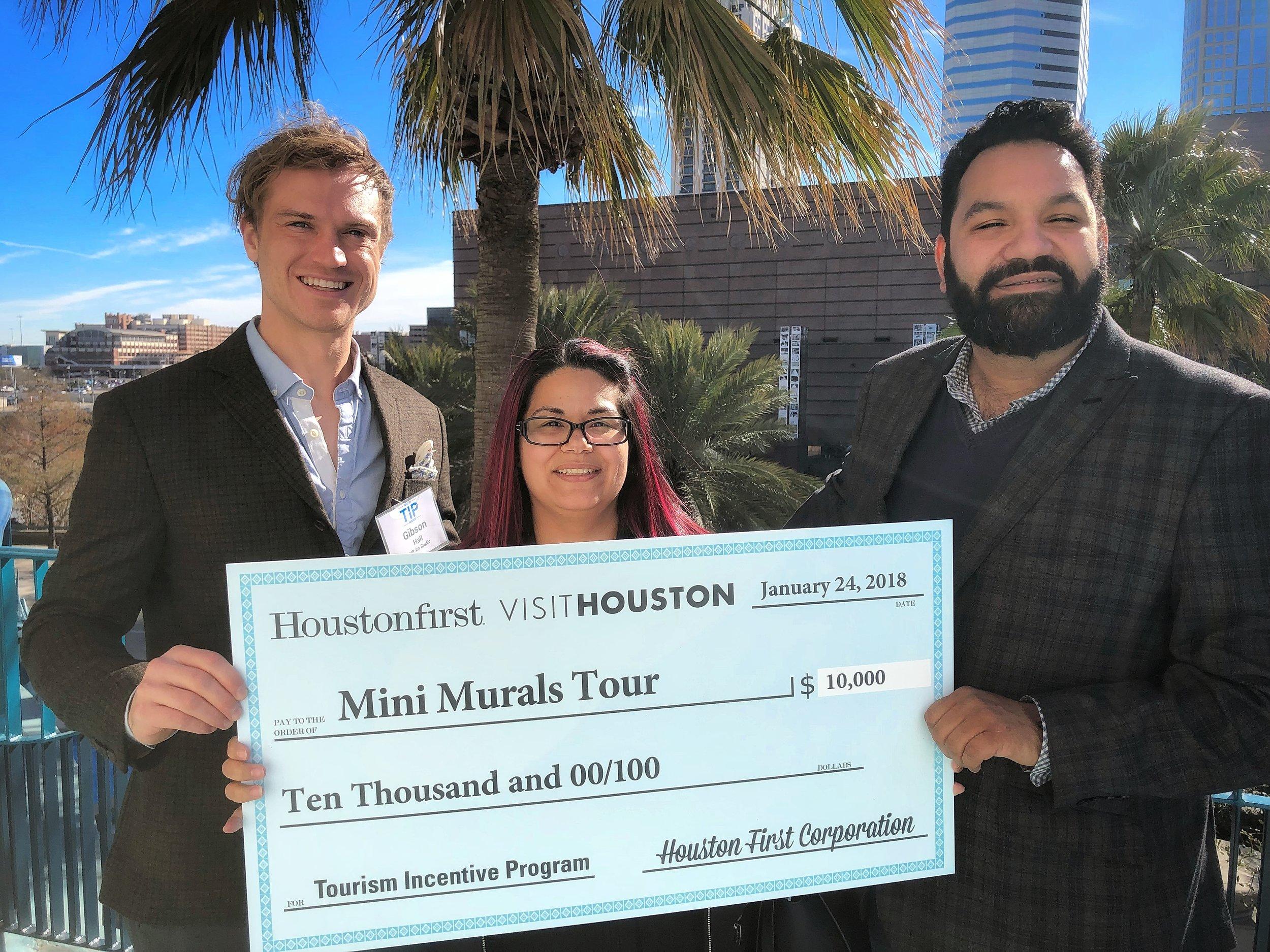 UP Art Studio, winner of Tourism Incentive Program for Mini Murals Tour