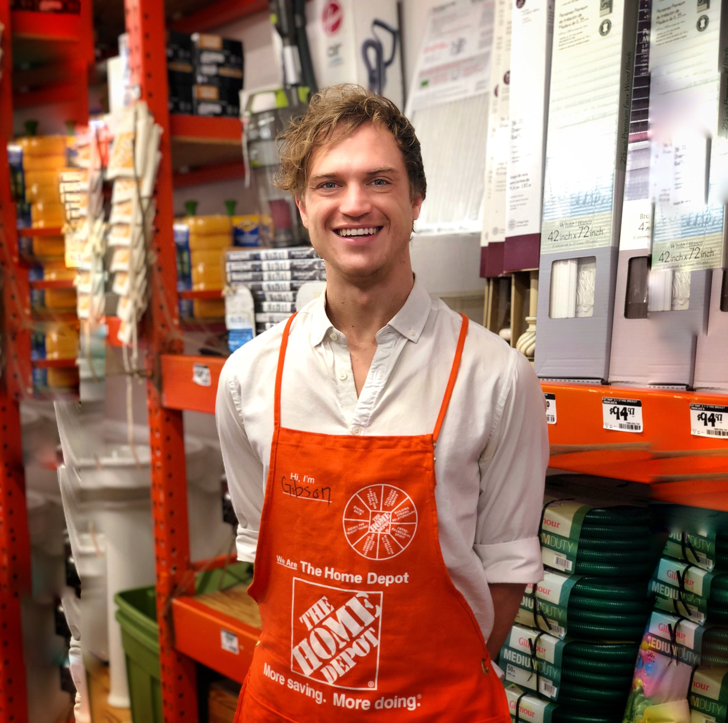 Gibson Hall Joins The Home Depot As Senior Manager Of Ux Gibsooon