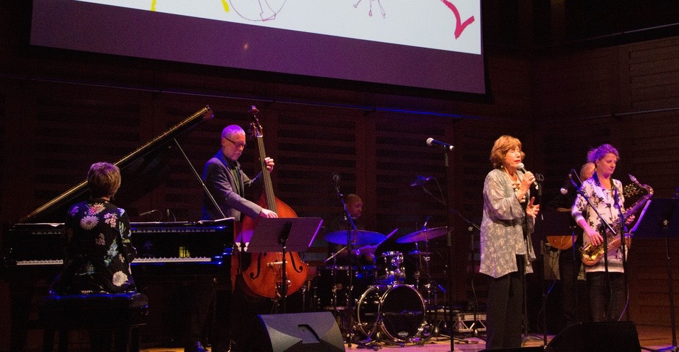with Nikki Iles, Dave Holland and Norma Winston