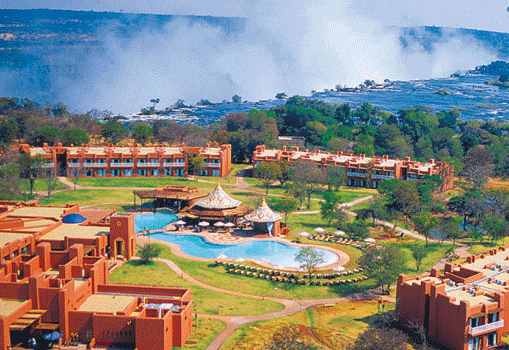 Hotel accomodation within the National Park