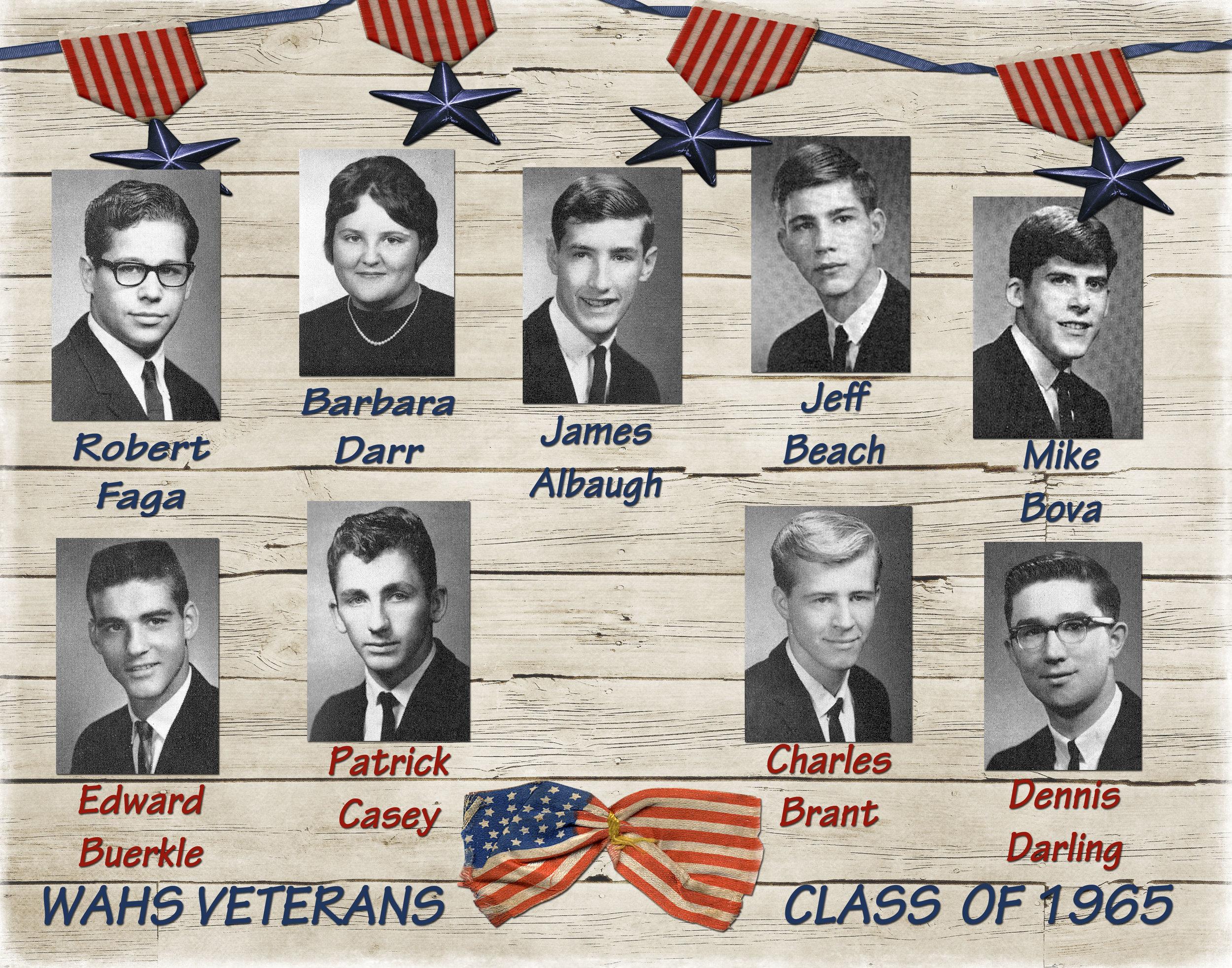 Honoring Veteran Classmates