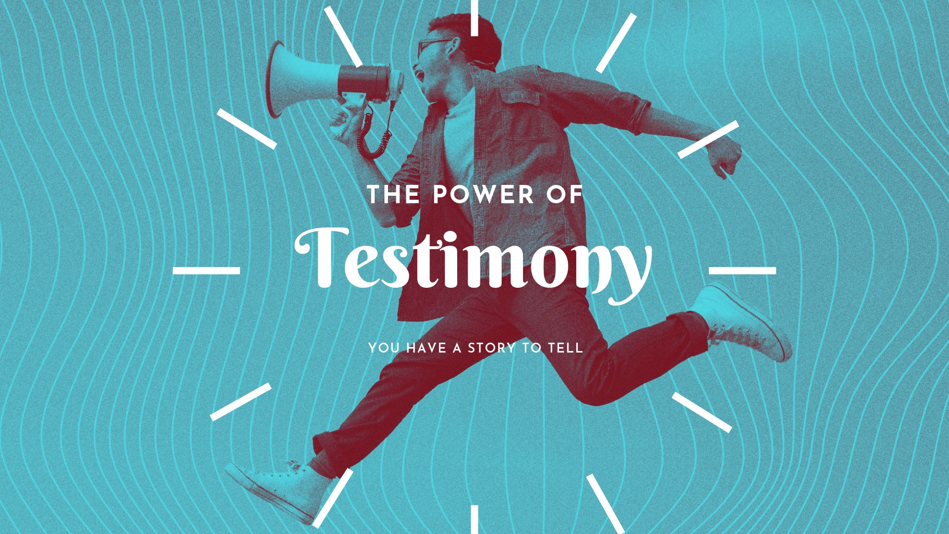 The Power of Testimony Message Slide.JPG