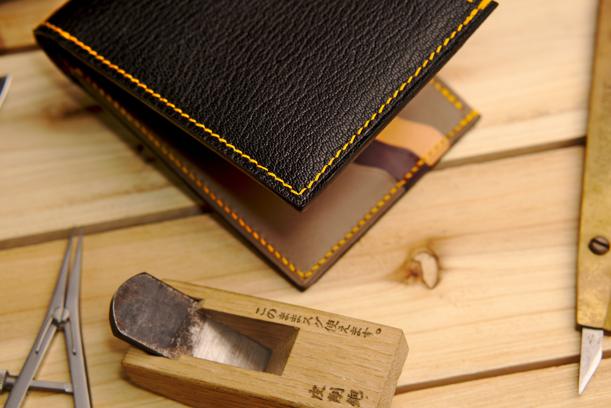 G M T Wallet Sewn by Hand