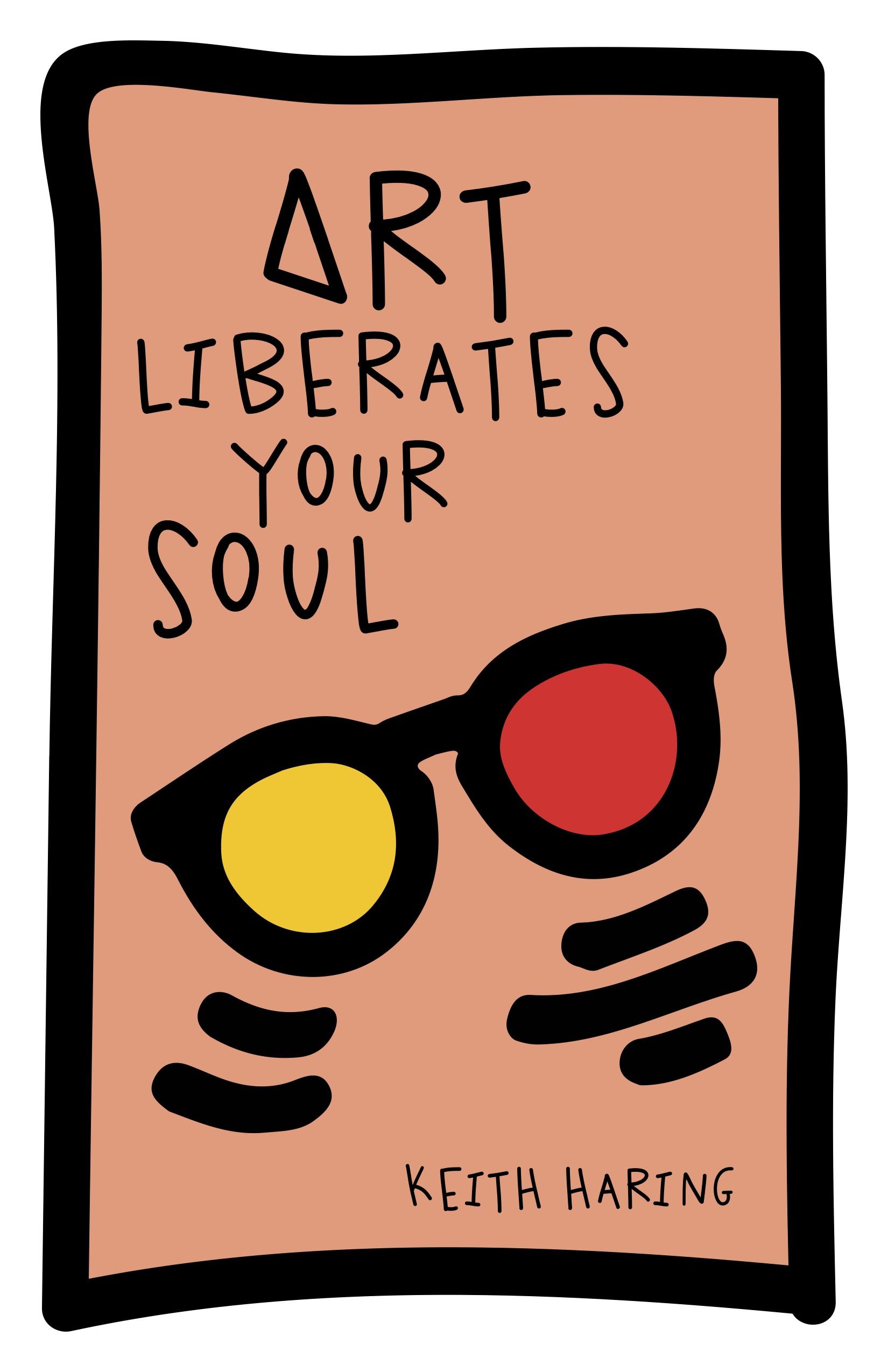 "Keith Haring (digital, 11x17"")"