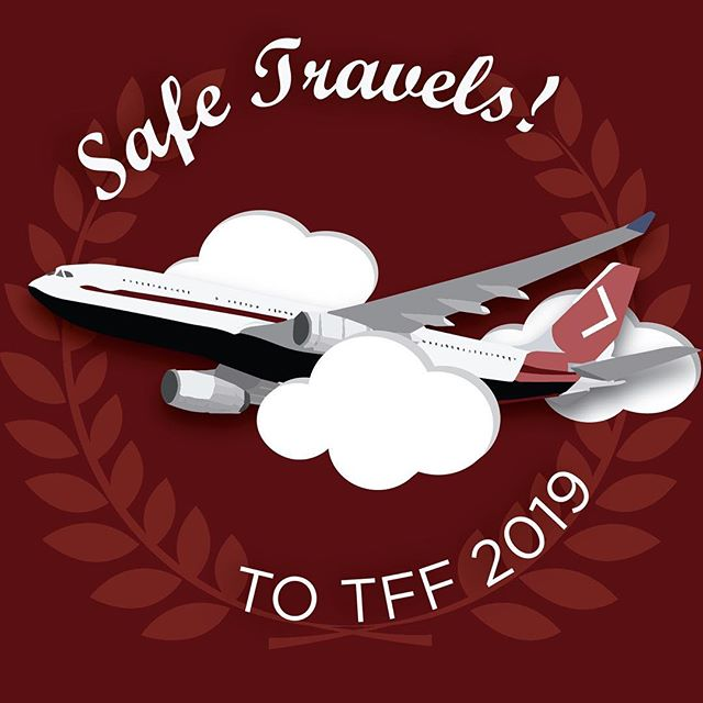 Bon Voyage to all our filmmakers and judges traveling to #TFF2019 today and tomorrow!! ✈️ . Can't wait to have everyone on campus in ONE SHORT DAY to celebrate cinema 😄🎞✨ . #safetravels #studentfilm #judges #hartfordhasit