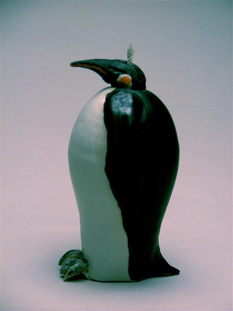 OL-21 |  Penguin Oil Lamp  ($150)