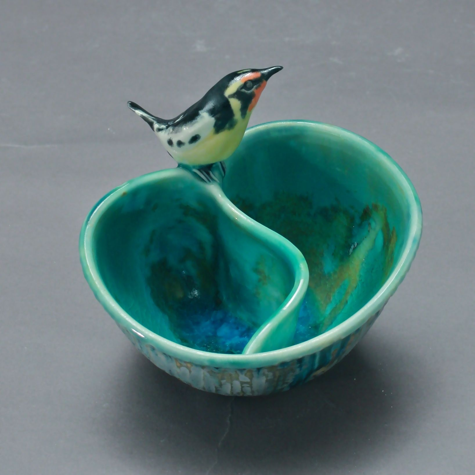 P-16 | Small Folded Pool with Oriole ($150)
