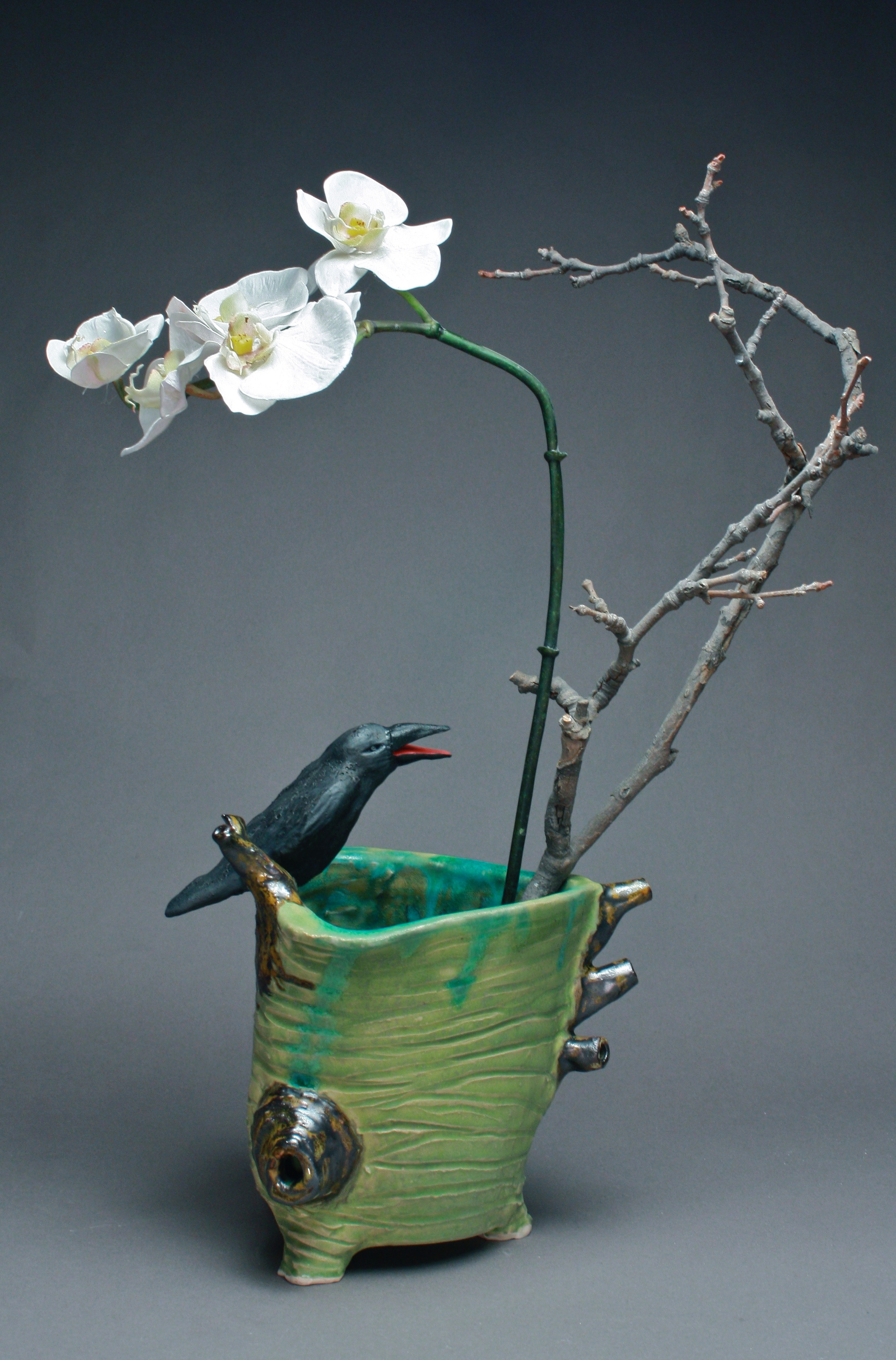 In Use- 01 | Crow Vase