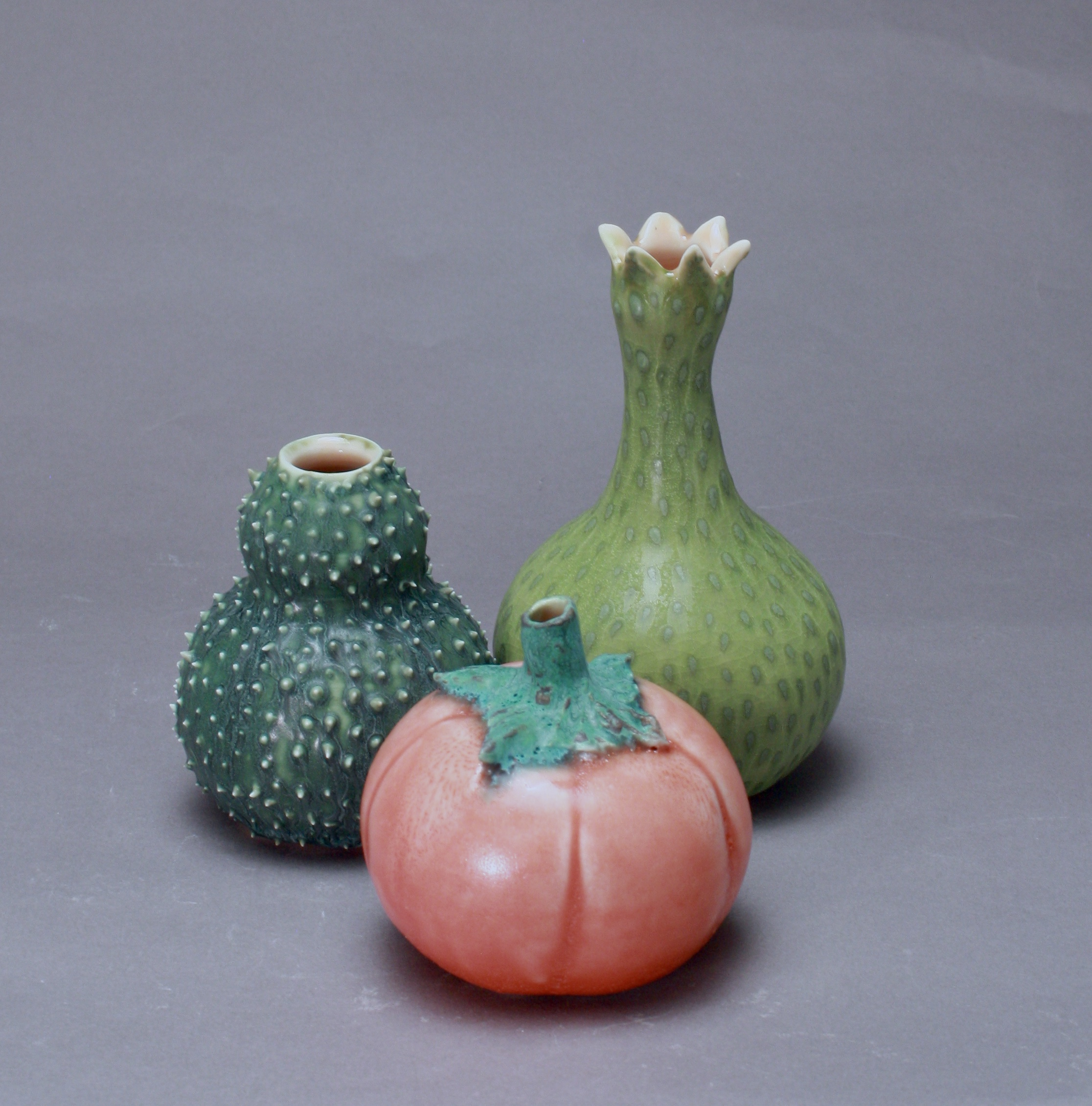 FV-19 | Tomato and Green Gourds  ($50-85)