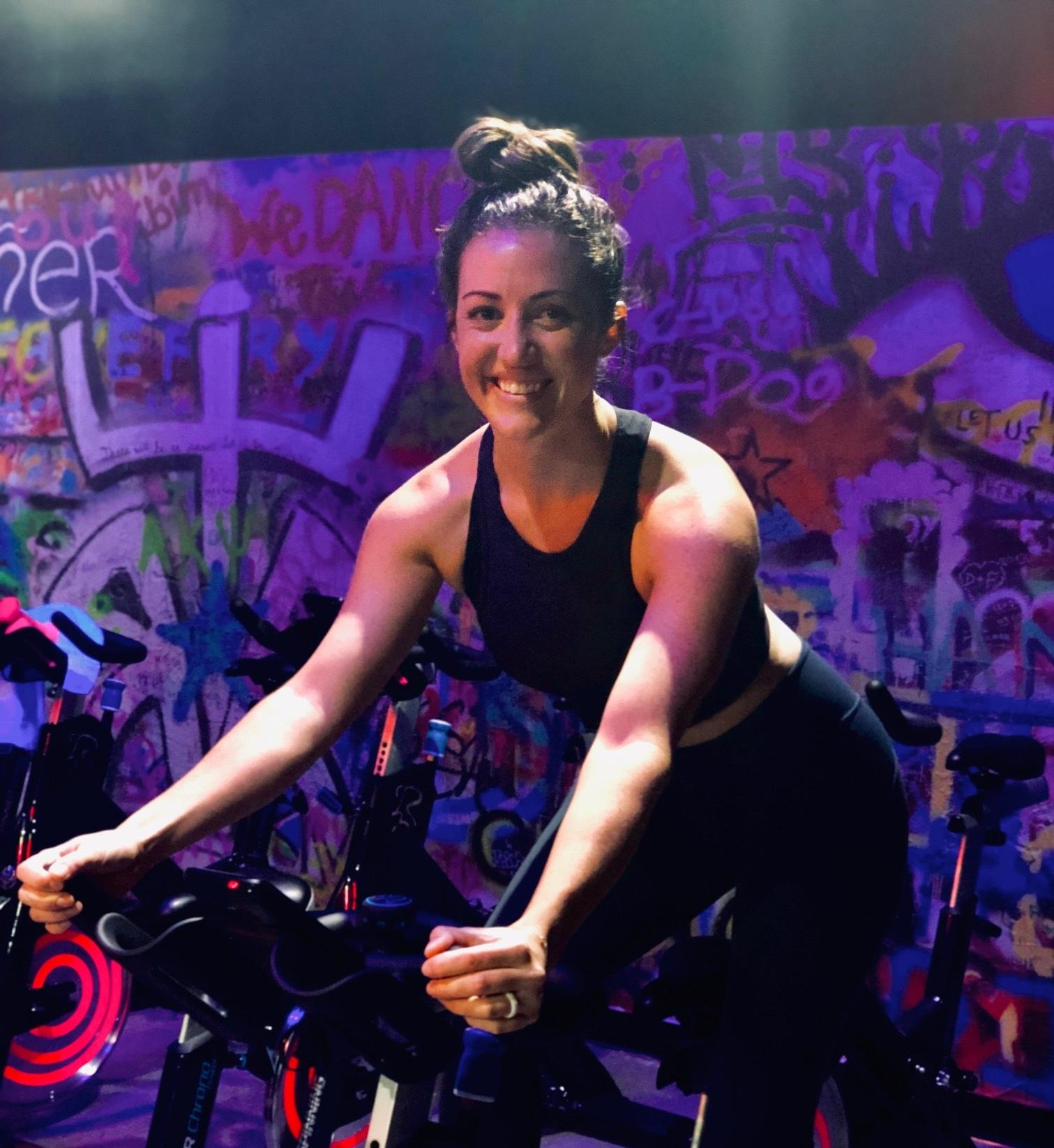 Alyssa Bernacil / Cycling