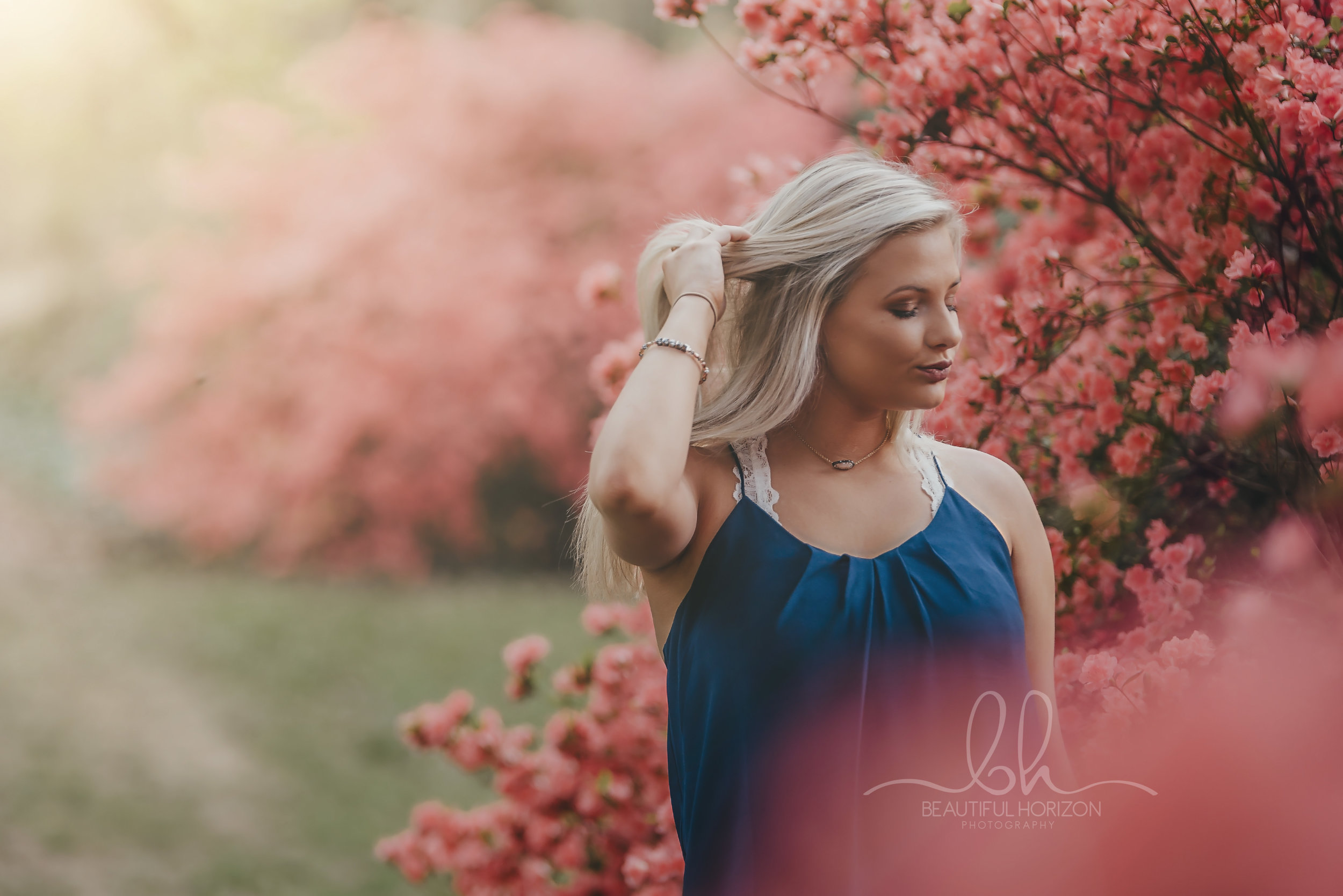 © Beautiful Horizon Photography. Tuscaloosa Senior Portrait Photographer. Senior Portraits.  Make up by : Kailee Page