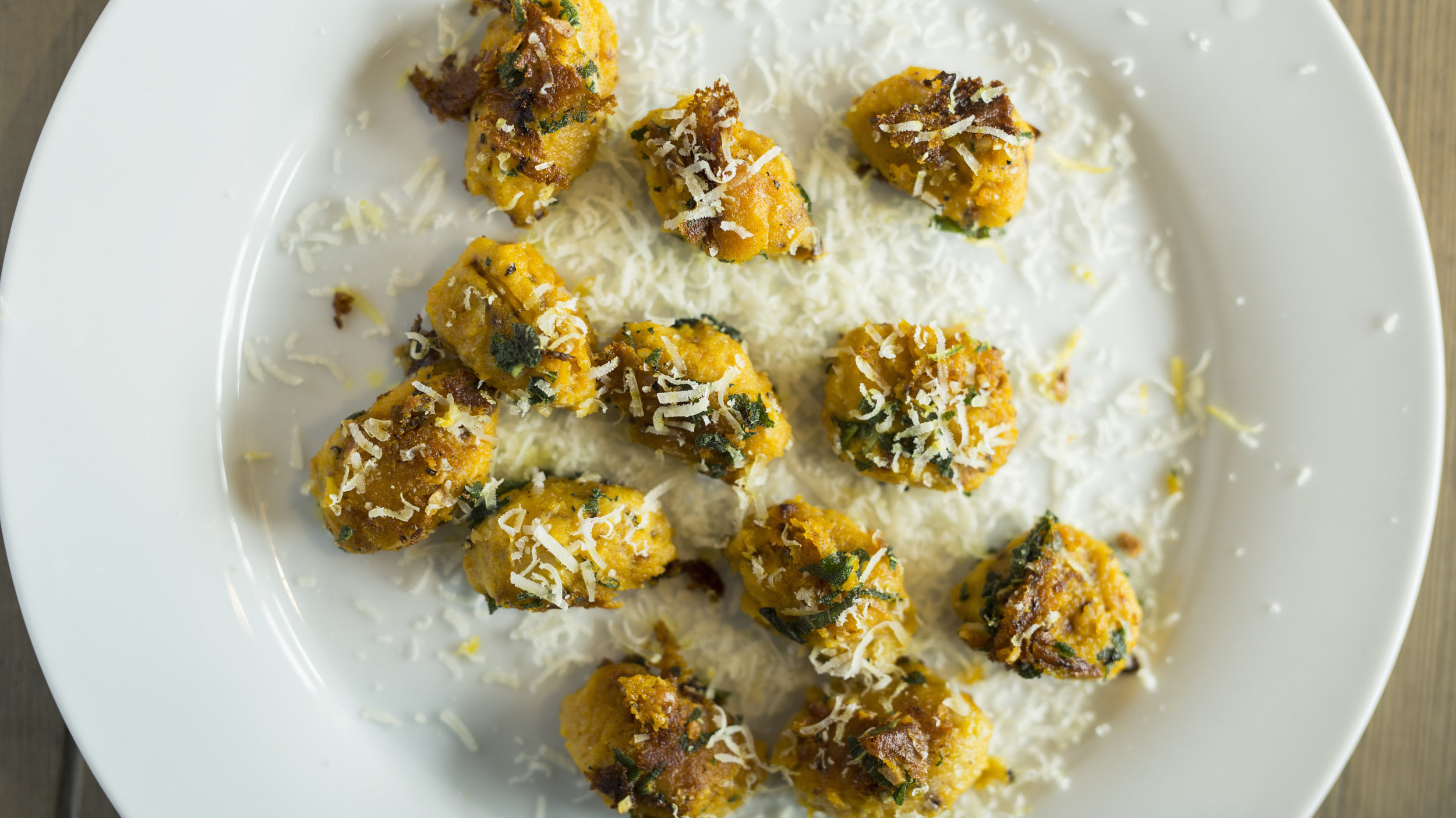 I was lucky enough to go to the Barfoots farm in Chichester a few weeks ago to film some recipes and here is my squash gnocchi made with their incredible produce. For the full recipe head to their website here  http://www.barfoots.com/work/squash-gnocchi/
