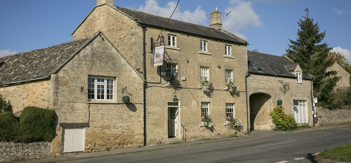 The Kingham Plough  A very cute and cosy pub and then food is amazing!  You will need to book in advance though!  The Green, Kingham, Chipping Norton OX7 6YD   01608 658327    www.thekinghamplough.co.uk