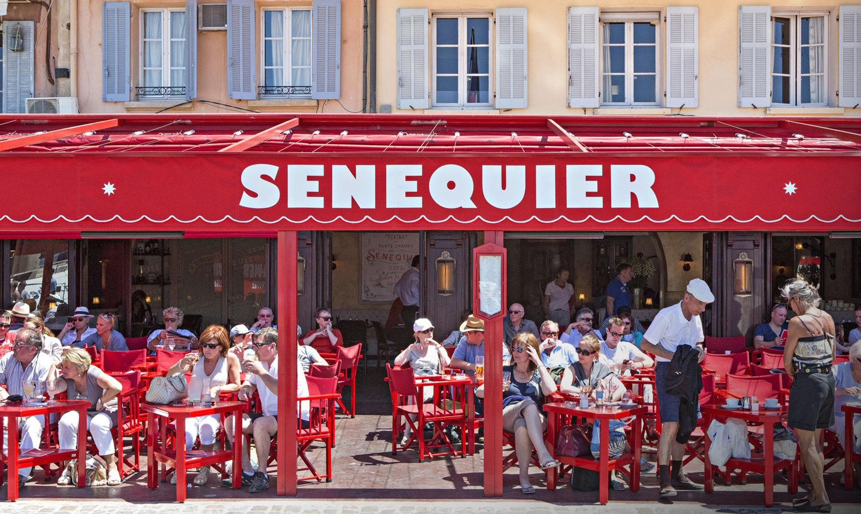 Senequier  I worked in the bakery here one summer and it truly does make one of the best versions of the Tarte Tropezienne around. You can sit in the front and people watch in the afternoon. If you're buying pastries then I suggest going to the old school bakery round the back. The nougat is also pretty famous and I have tried to recreate a similar recipe based on this place in my cookbook.  Quai Jean Jaurès, 83990 St Tropez, France +33 4 94 97 20 20