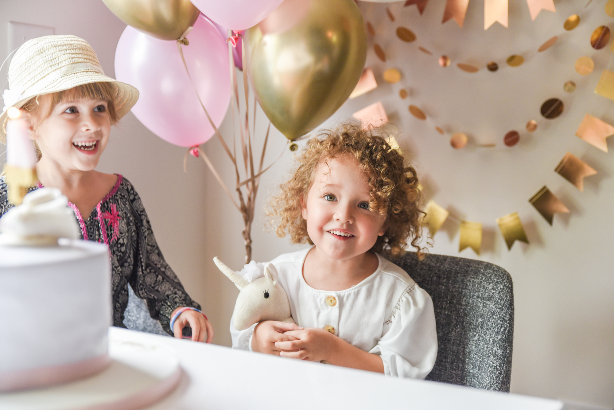 Intimate 4th Birthday, Balloons, Unicorn, + Decor by  Paper Source Naperville