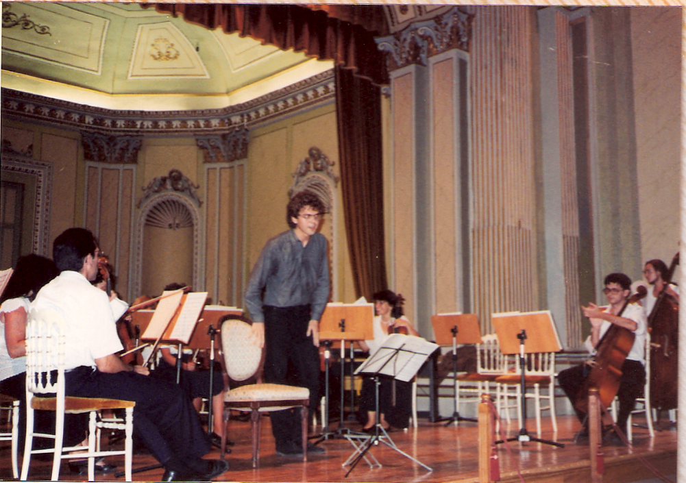 Playing with orchestra in Spain