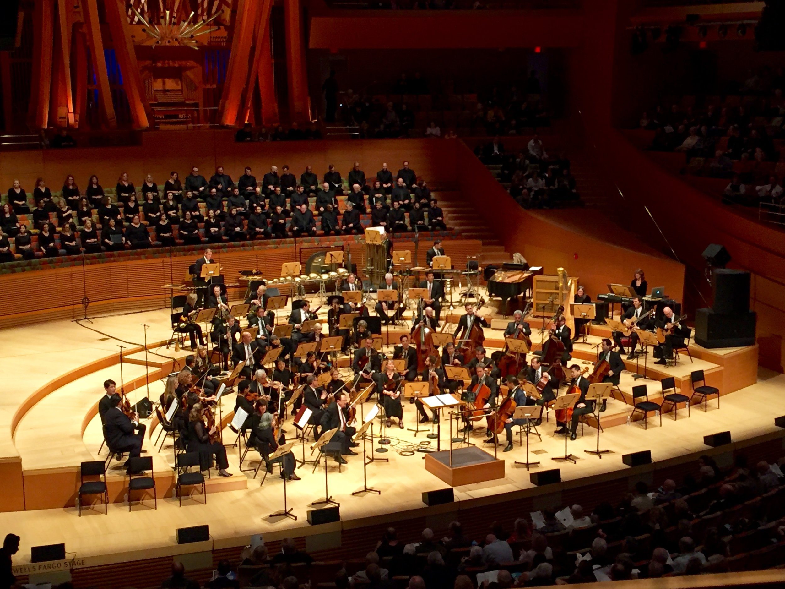 With the LA Phil (and Brian Head!)