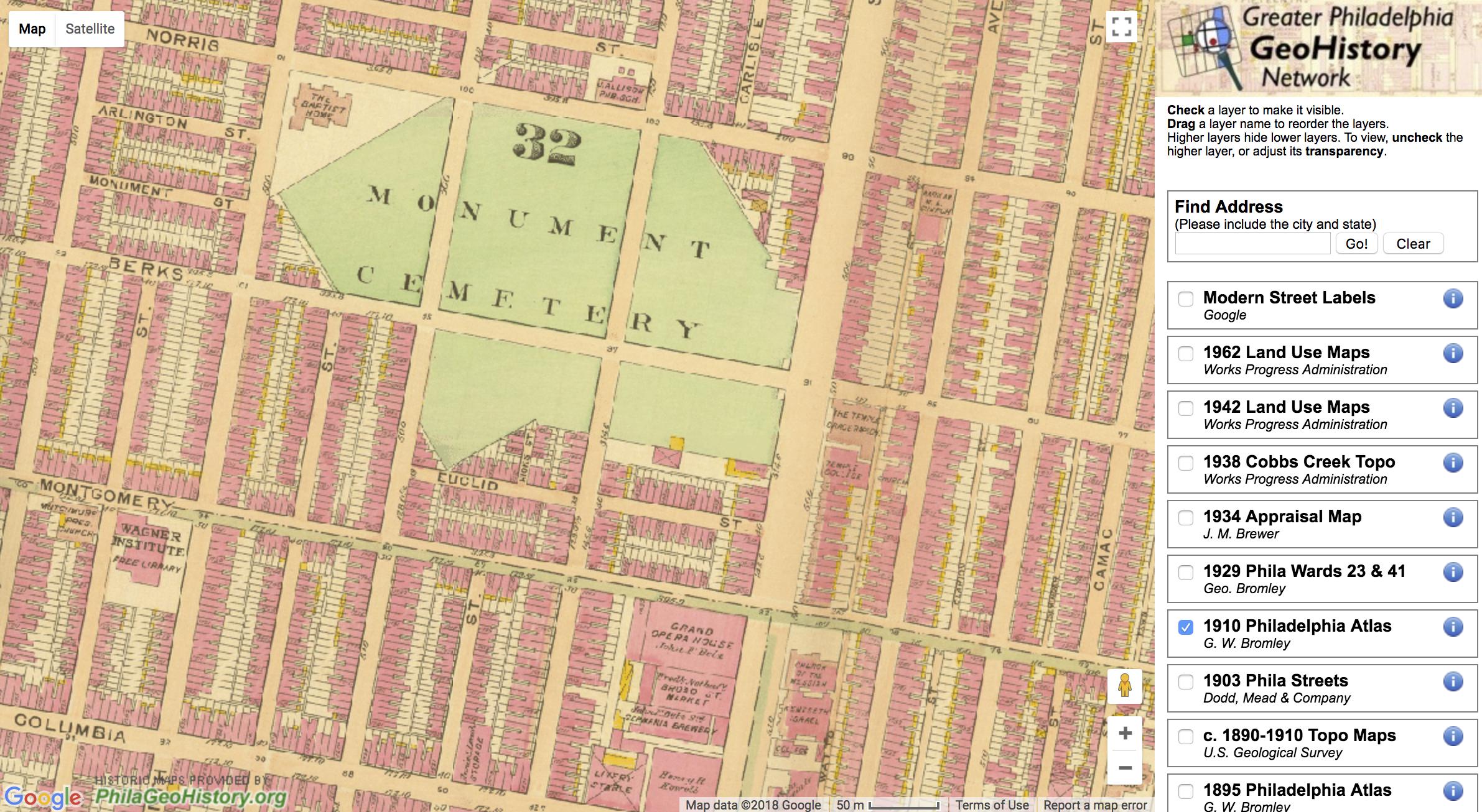 1910 Philadelphia Atlas