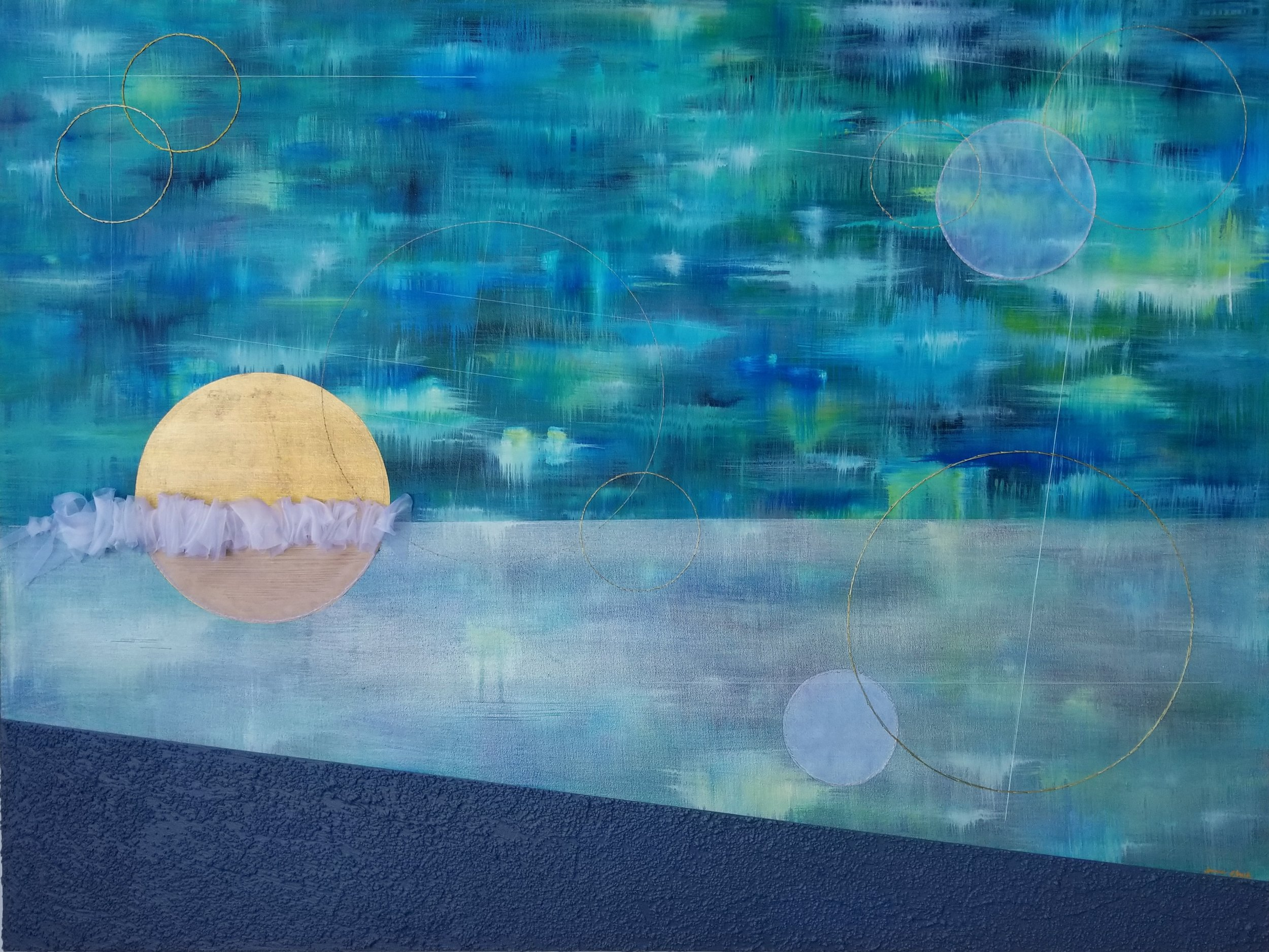 Ebb + Flow - A exhibit of works inspired by the sea, turning tides, and the dichotomy of the human experience