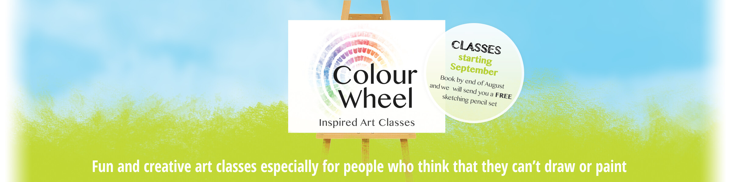 Colour Wheel - Classes for Adult Beginners