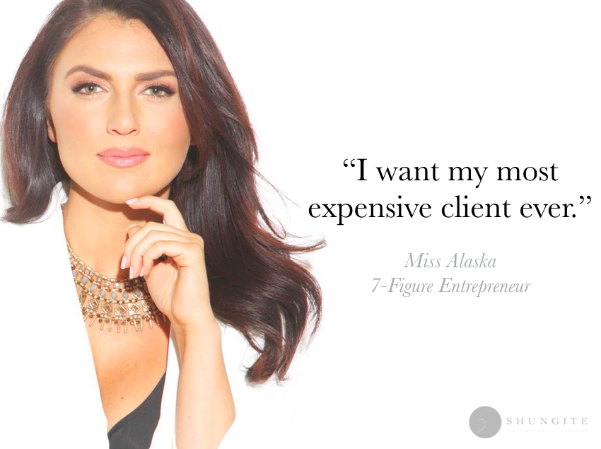 client #2was afraid to ask for high-ticket pricesfor 1-on-1 coaching... - lands the biggest contract she'd ever gotten the next day!
