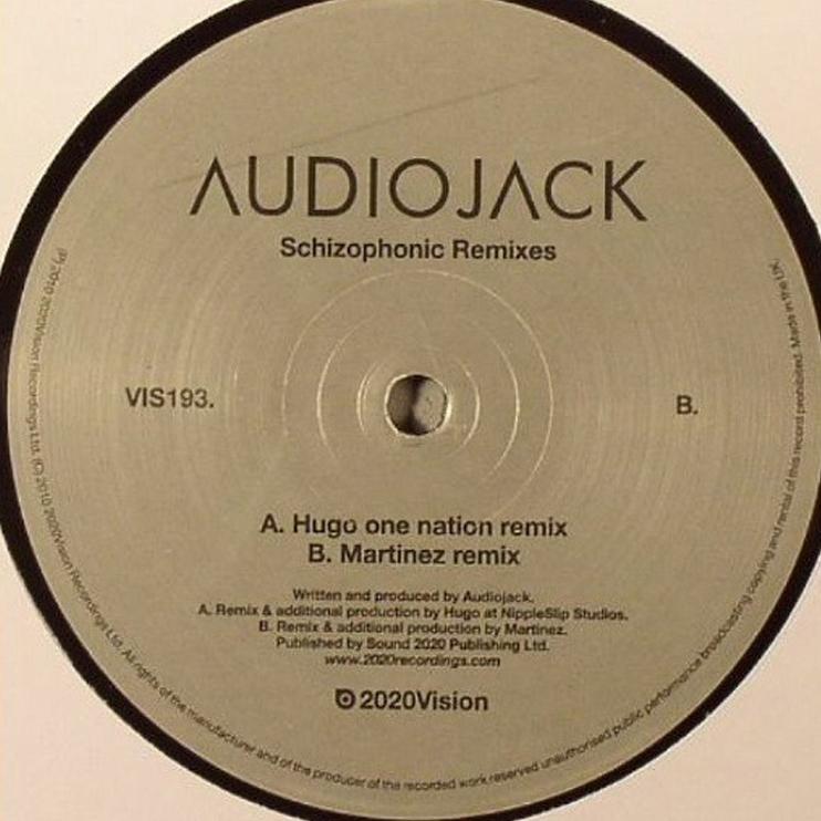 VIS193 - AUDIOJACK - SCHIZOPHONIC REMIXES