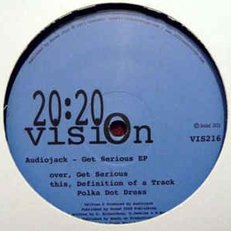 VIS216 - AUDIOJACK - GET SERIOUS