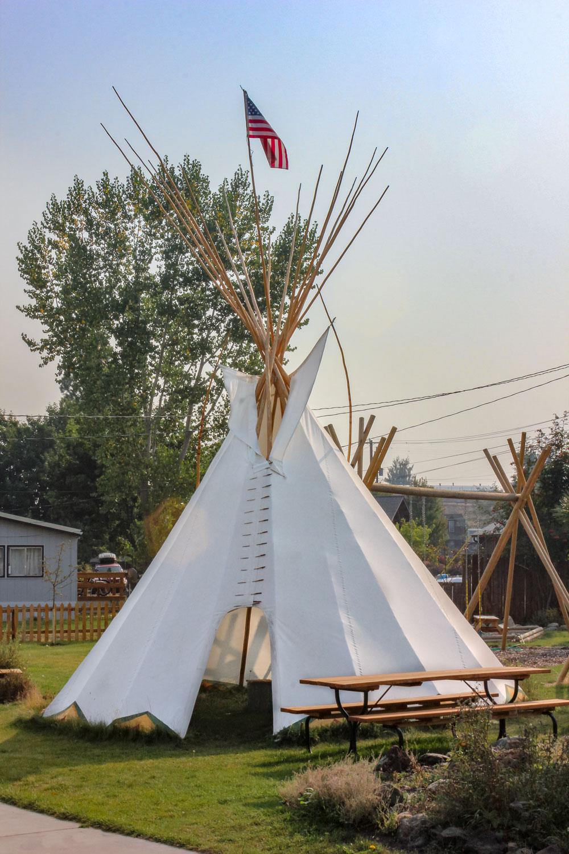 Nez Perce Tipi - Joseph, Oregon
