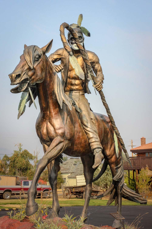 Nez Perce Warrior - Joseph, Oregon