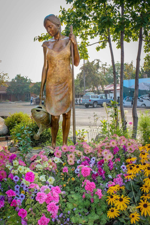 Bronze Sculpture - Joseph, Oregon