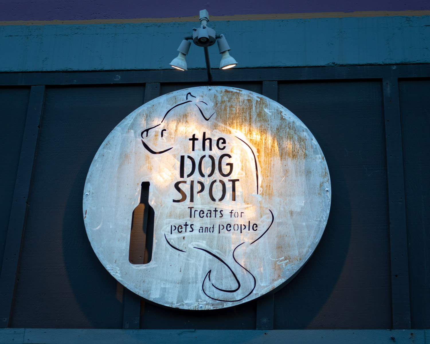 The Dog Spot - Treats for Pets and People -Joseph, Oregon - Photo by Ron Huckins