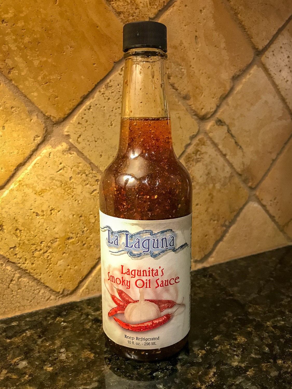 Local specialty… Lagunita's Smoky Oil Sauce - Joseph, Oregon - Photo by Ron Huckins
