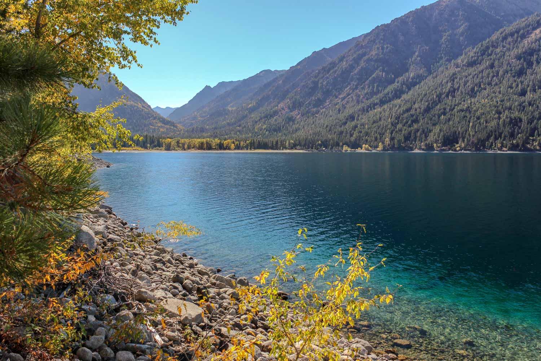 Wallowa Lake near Joseph, Oregon - Photo by Ron Huckins