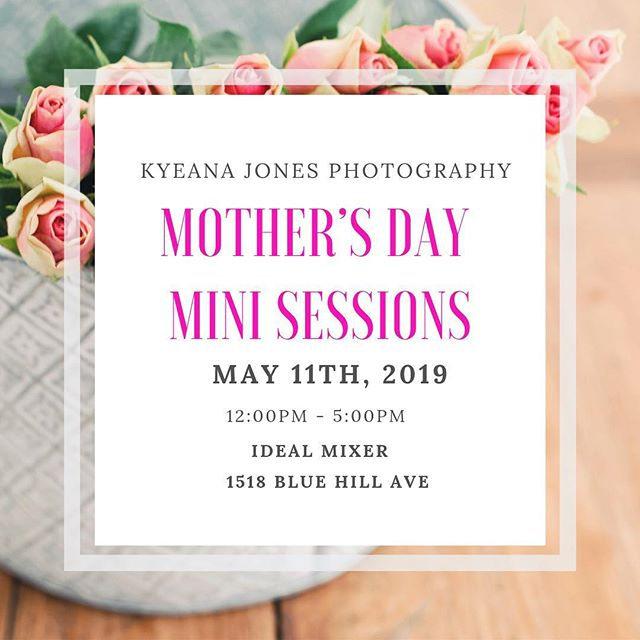 RESERVE YOUR MINI SESSION NOW—link in bio! 🌸 A bit about the location, The Ideal Mixer is a low key art studio and creative flex space. All photographs will be taken in front of a backdrop created by myself and 143DesignDecor which will allow for a picture perfect setting ensuring that your timeless snapshots will last a lifetime. Take a moment to mingle with others as well as nibble on light snacks and beverages, while engaging with the chosen vendors and their products and/or services. Pricing begins at $135. 🌸 EACH SESSION INCLUDES: -25 Minute portrait session -Up to 4 People -1 Outfit look -15 image proof gallery -10 Softly edited images (With the option to purchase additional images) -Nibble on hors d'oeuvres & enjoy a beverage after your portrait is taken ⠀⠀ ** all sessions must be booked in advance!