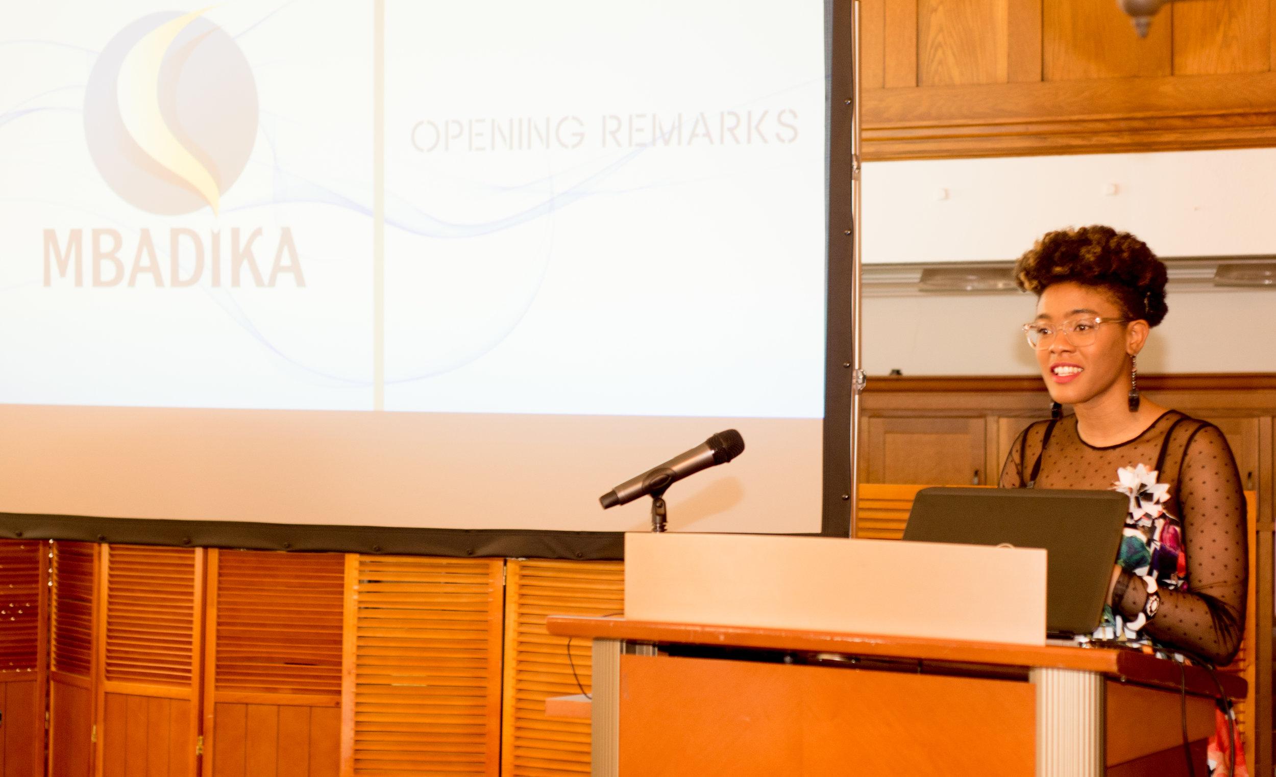 Netia McKray -MIT Graduate, founder of Mbadika