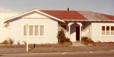 Plunket Rooms - Westport, New Zealand, Where we held Church services.