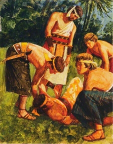 Alma and the four sons of Mosiah.jpg