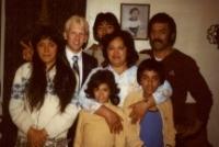December 1, 1980 - Skipworth Family - Donna, Myself, Debbie-a cousin, Jay, Sister Skipworth, Sidney, and Brother Skipworth smaller.jpg