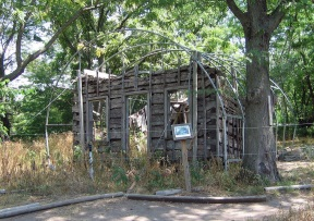 Only cabin left standing from the LDS Period in Missouri in Caldwell County.