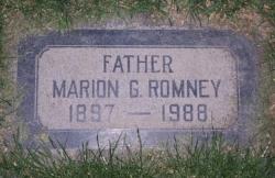 Marion G. Romney gravestone.jpg